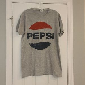 PEPSI gray graphic t-shirt Size Medium